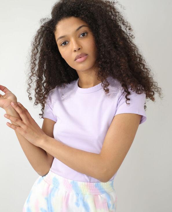 T-shirt basique violet - Pimkie