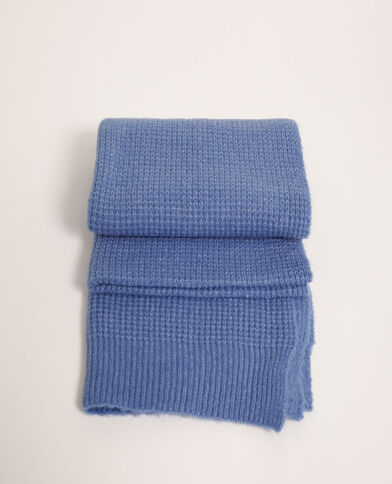 Echarpe gaufrée bleu ciel - Pimkie