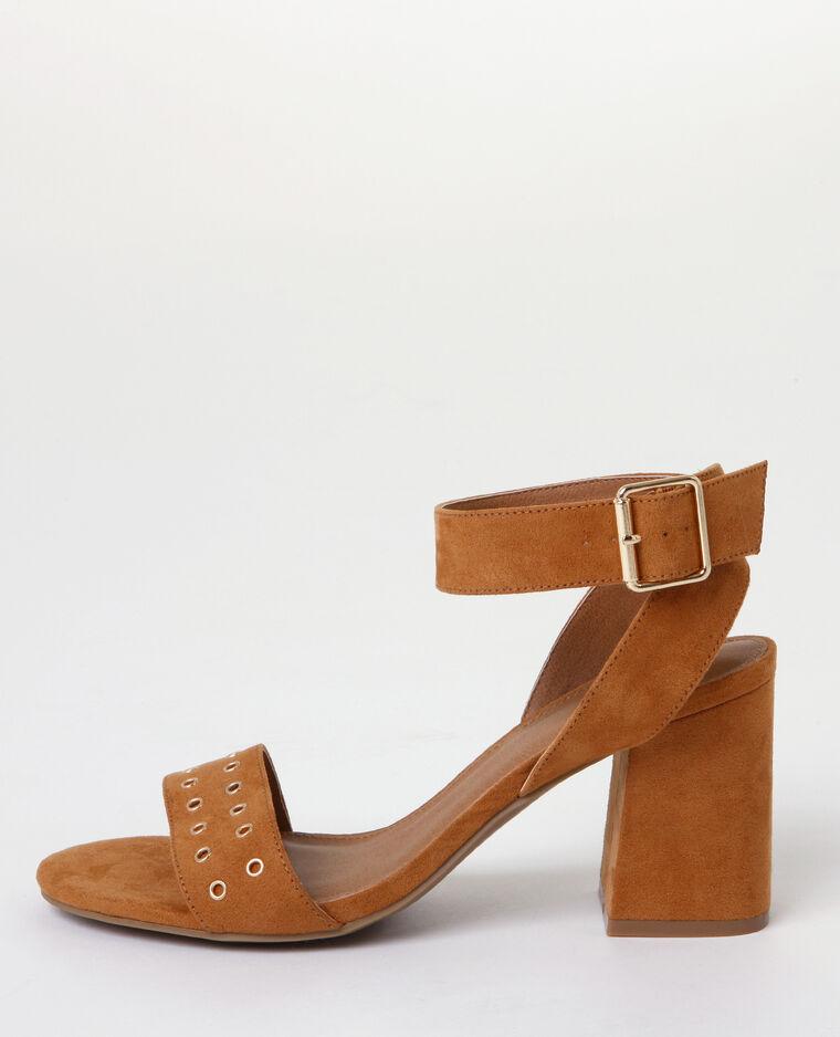 Sandales talons carrés