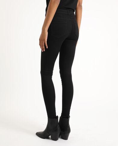 Jean skinny taille haute noir