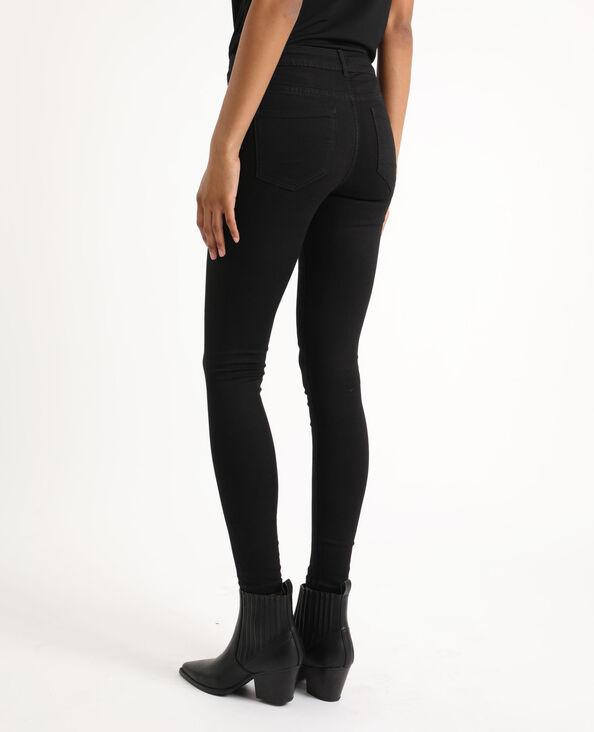 Jean skinny taille haute noir b1ff2a457a40