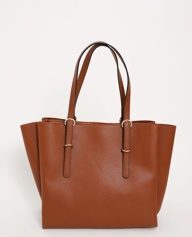 Grand sac cabas marron