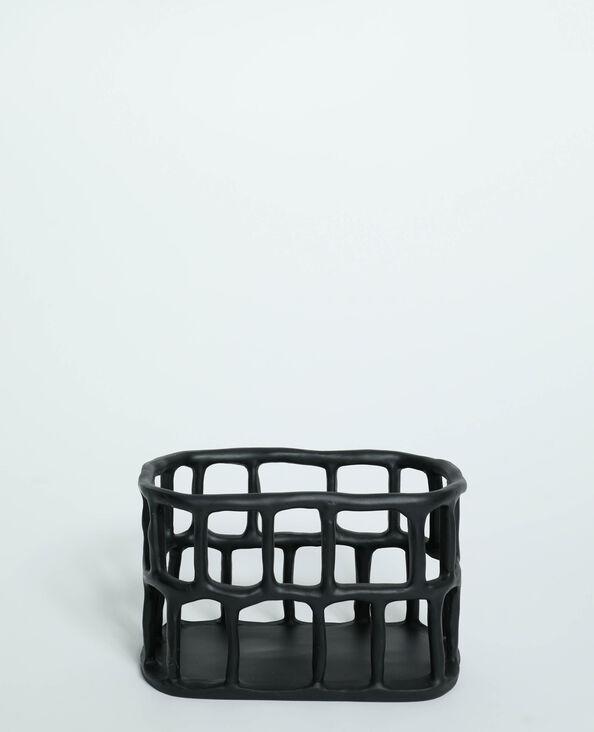 Cagette de rangement noir - Pimkie