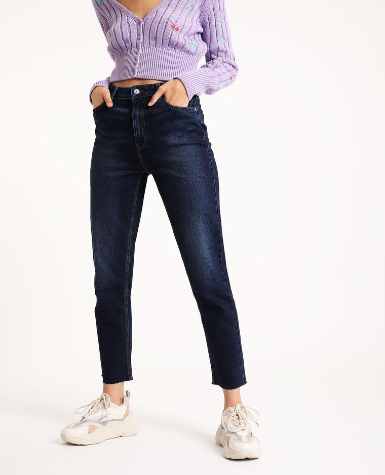 Jean straight bleu brut