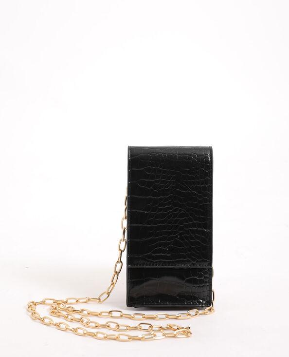 Pochette pour smartphone avec bandoulière noir - Pimkie