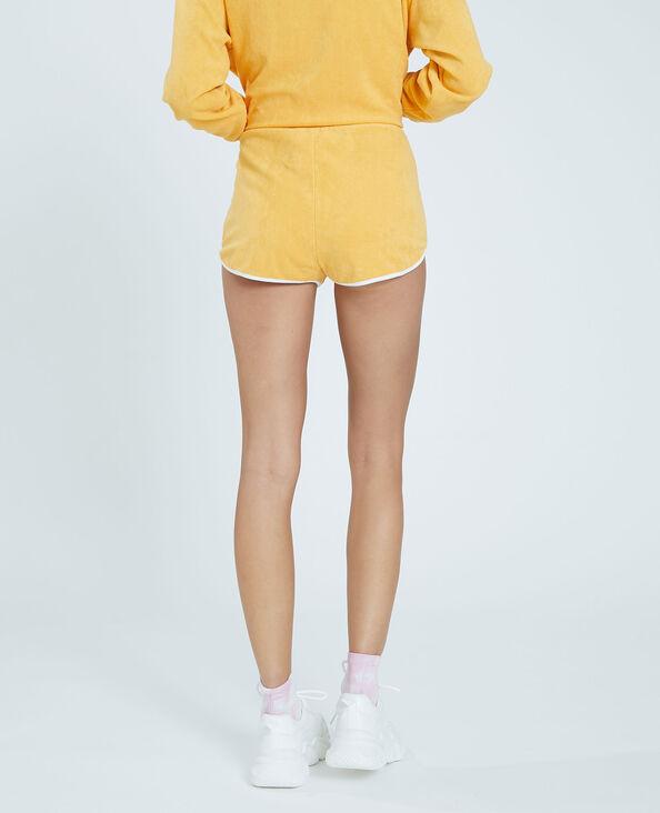 Short éponge jaune - Pimkie
