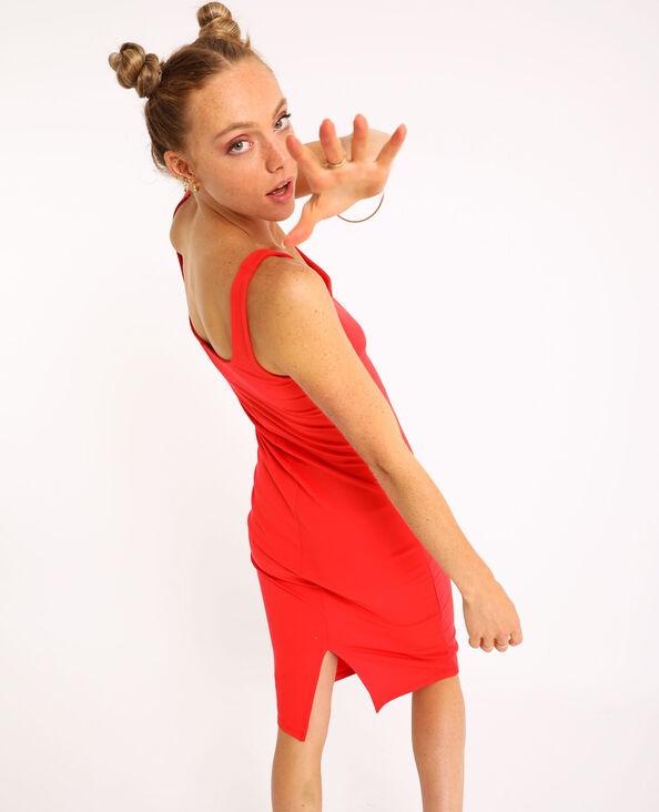 Robe bodycon rouge - Pimkie