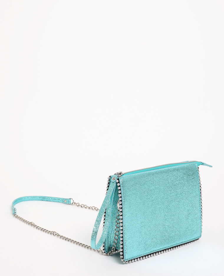 Sac boxy bleu - Pimkie