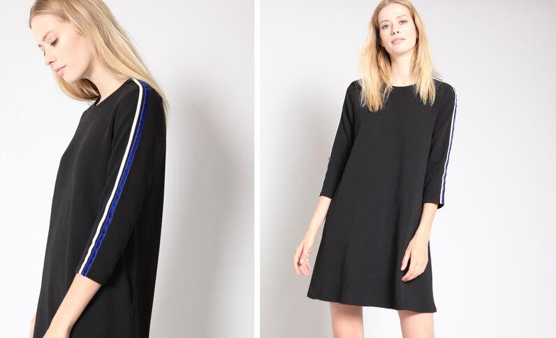 Robe droite noir
