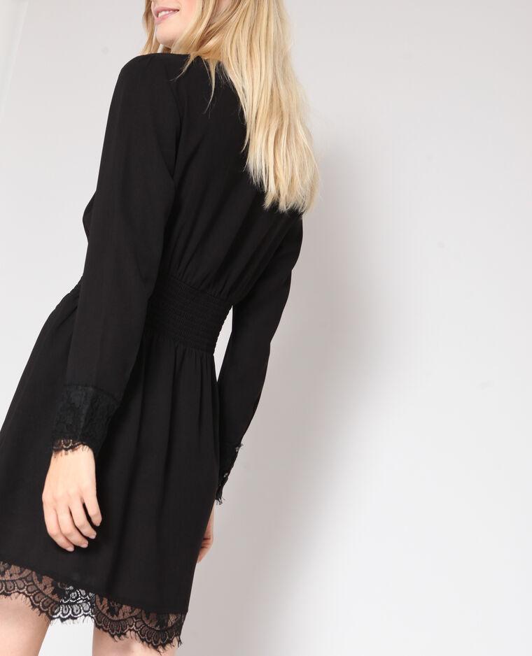 Robe à dentelle noir