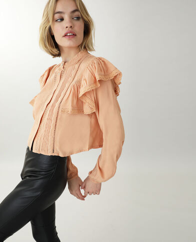 Tunique courte orange - Pimkie