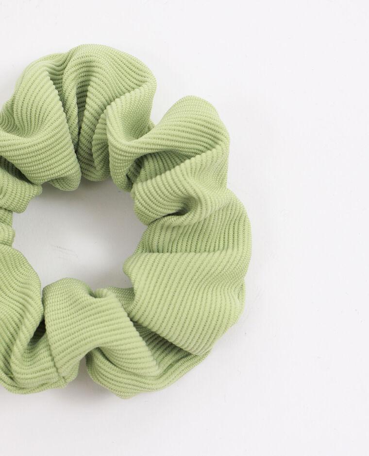 Chouchou texturé vert d'eau - Pimkie
