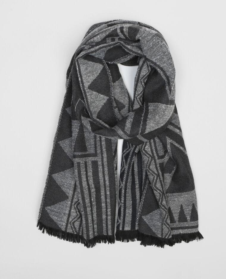 Maxi écharpe ethnique noir - 902052899I09   Pimkie 044dcba336d
