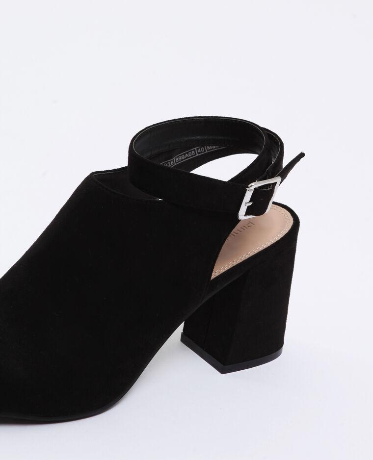 Sandales ouvertes noir