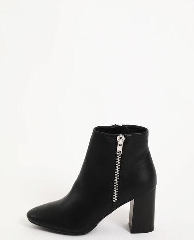 Boots à talon noir