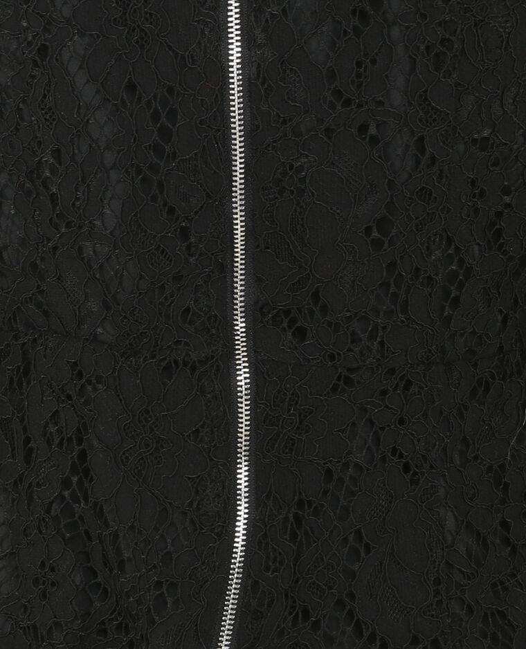 Combishort dentelle noir