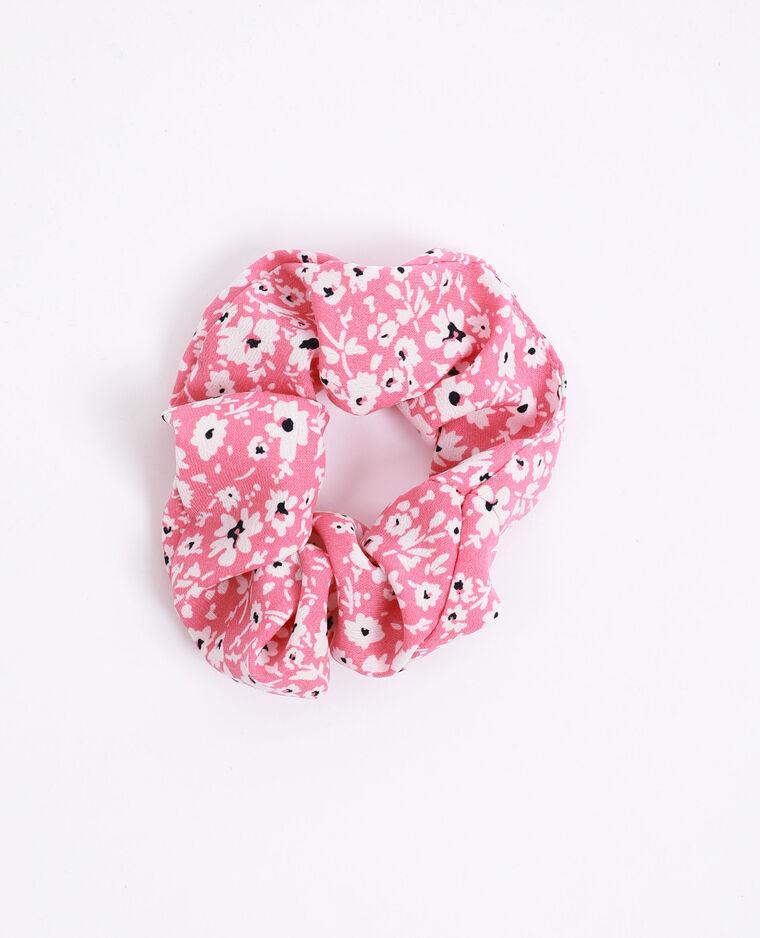 Chouchou à petites fleurs rose - Pimkie
