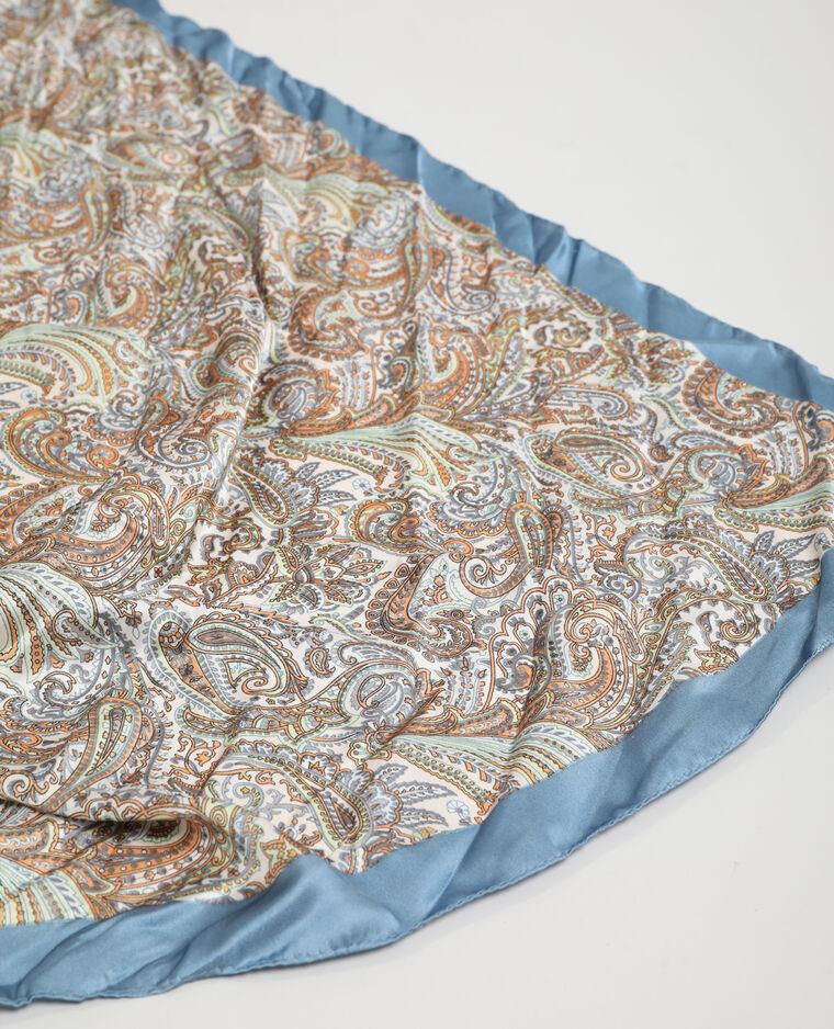 Foulard motifs cachemire beige - Pimkie