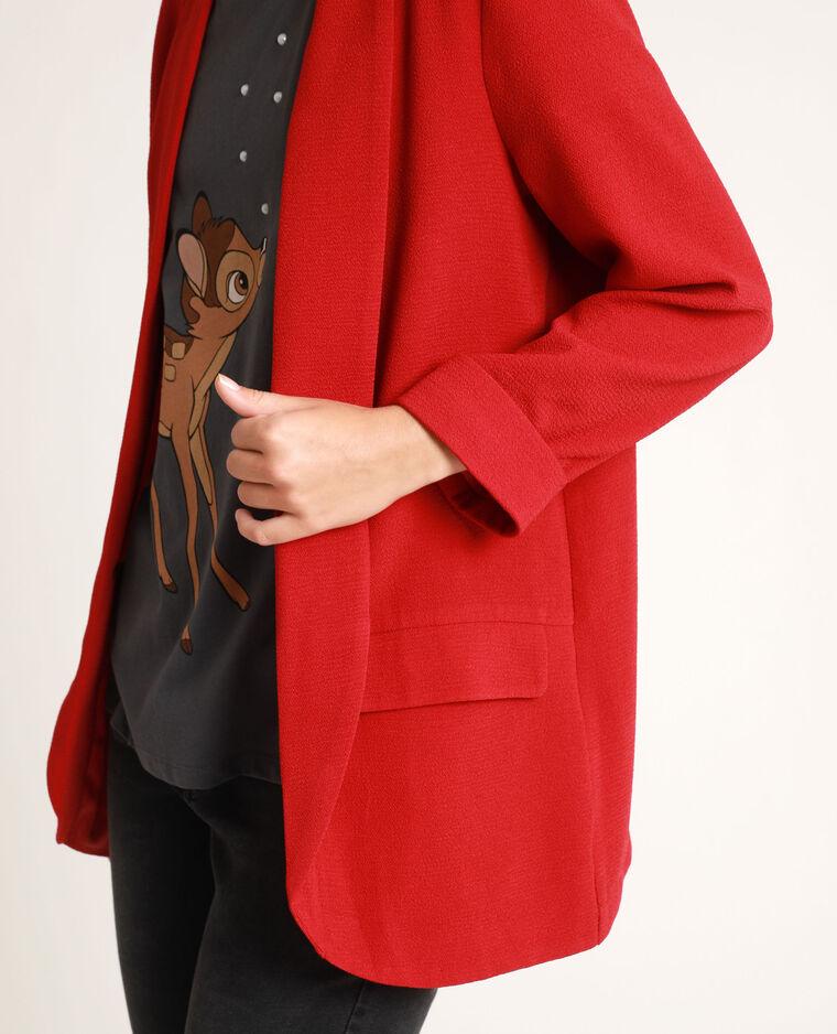 Blazer fin rouge - Pimkie