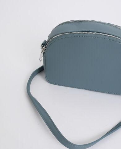 Petit sac zippé bleu
