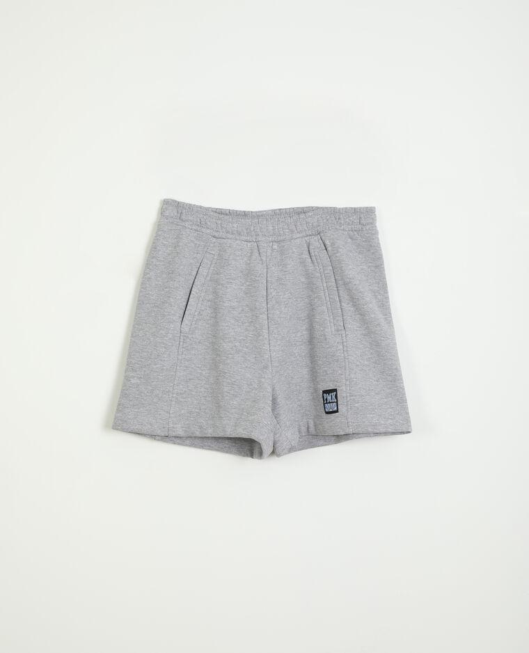 Short molleton gris - Pimkie