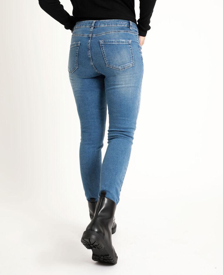 Jean skinny mid waist bleu denim - Pimkie