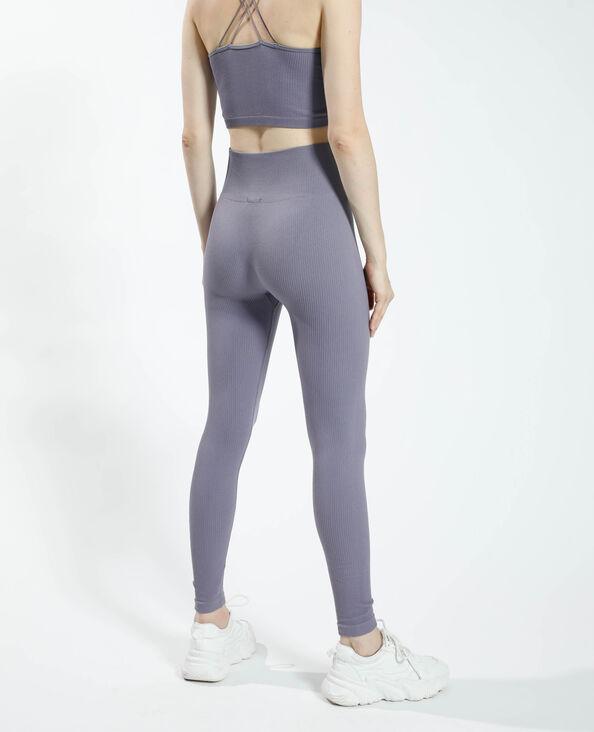 Legging côtelé violet - Pimkie