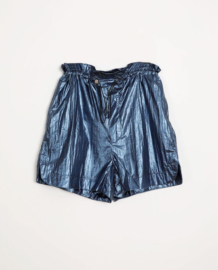 Short sporty bleu marine
