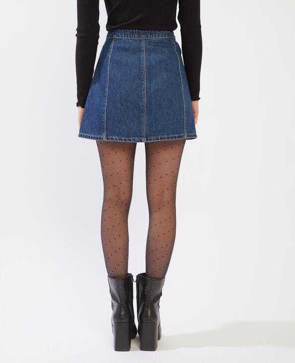 Jupe courte en jean bleu brut - Pimkie