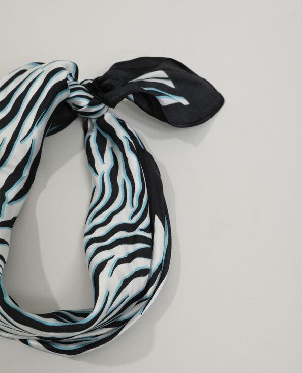Foulard zébré blanc - Pimkie