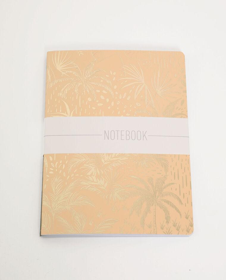 Lot de 2 notebooks kaki