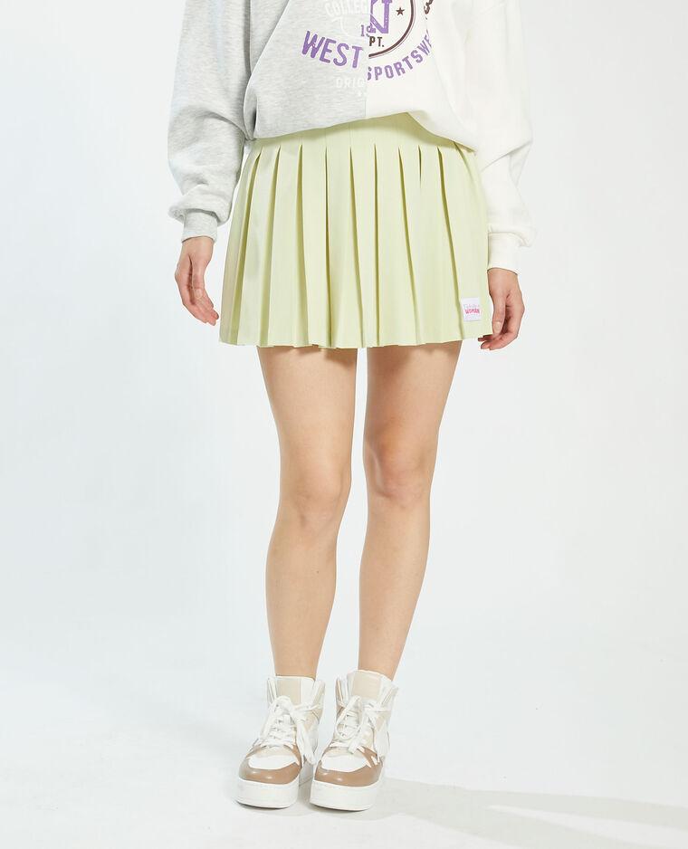 Jupe plissée vert - Pimkie