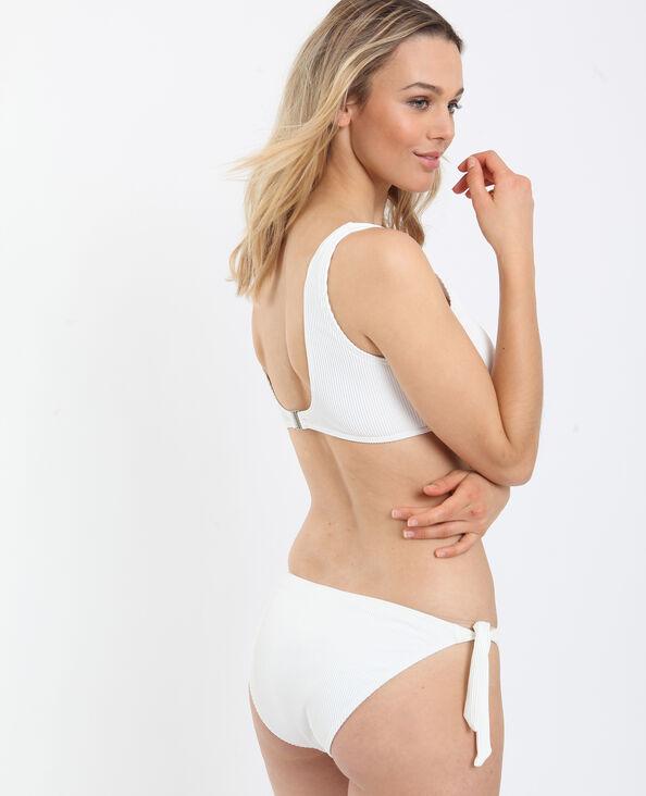 Brassière bikini écru