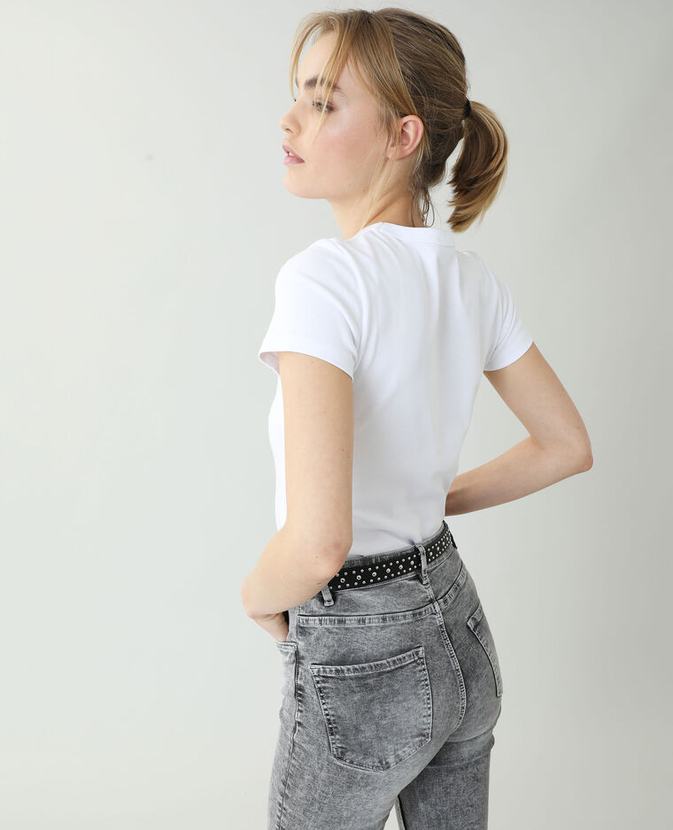 T-shirt basique blanc - Pimkie