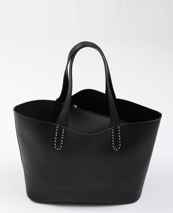 Grand sac souple noir