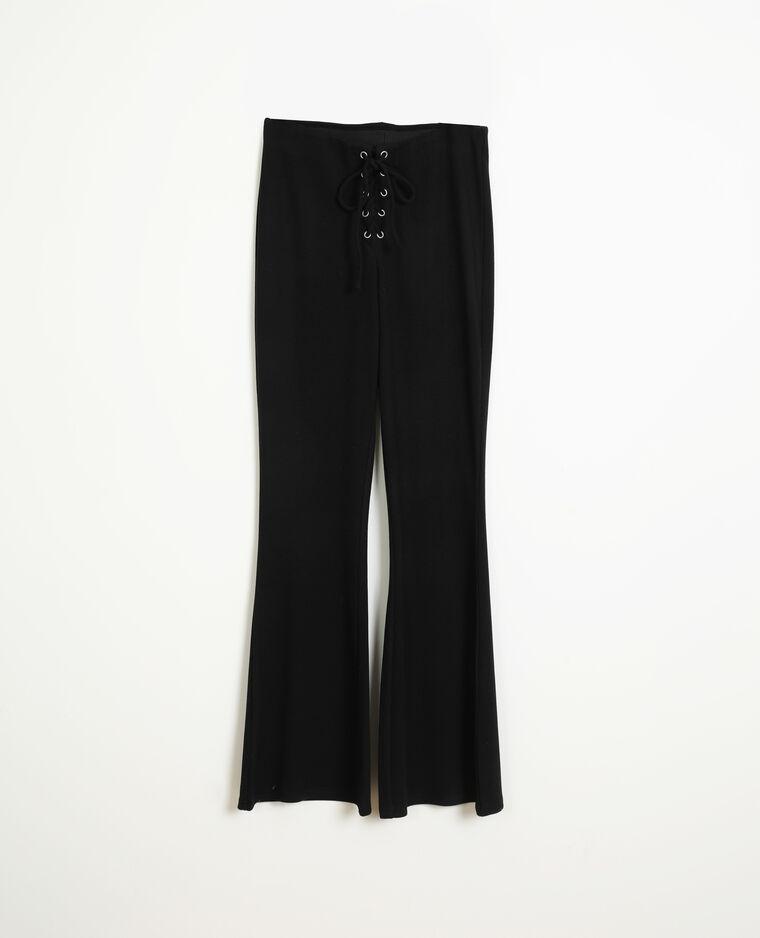 Pantalon en maille noir