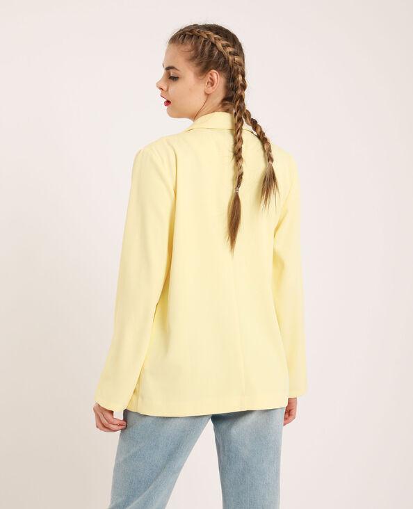 Blazer uni jaune