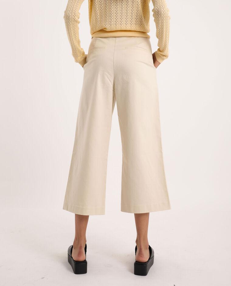 Pantalon taille haute beige - Pimkie