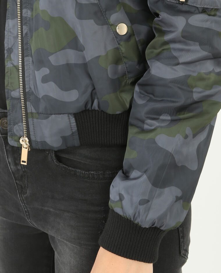 Bomber camouflage kaki