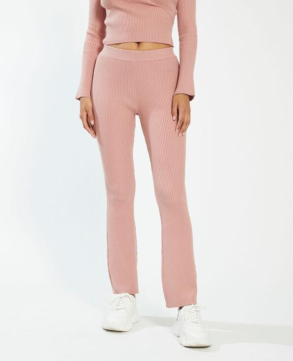 Pantalon côtelé rose - Pimkie