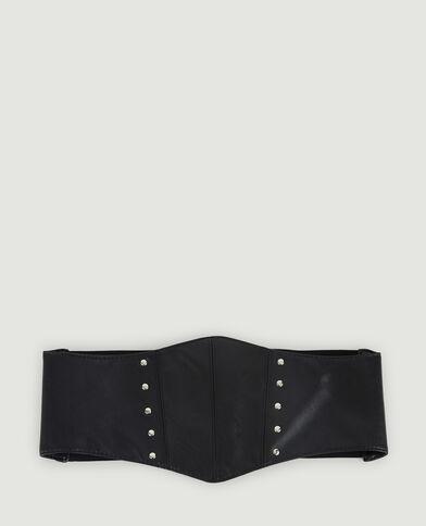 Ceinture corset noir - Pimkie