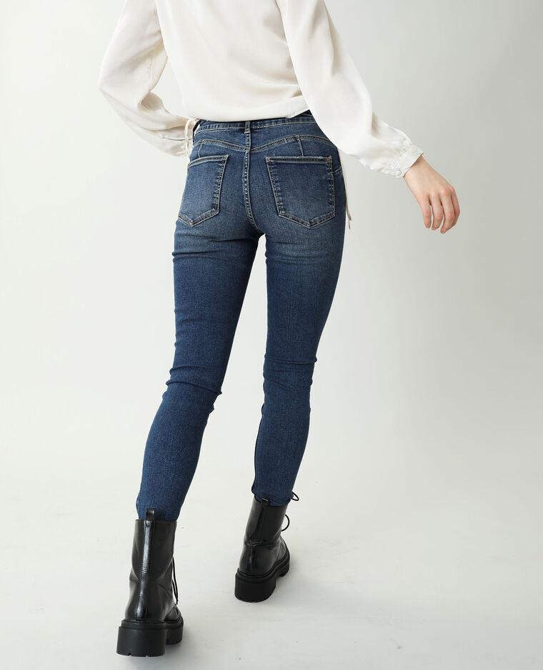 Jean skinny push up mid waist bleu brut - Pimkie