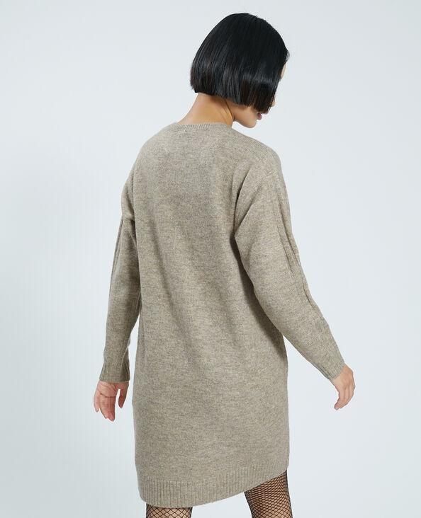 Robe pull beige - Pimkie