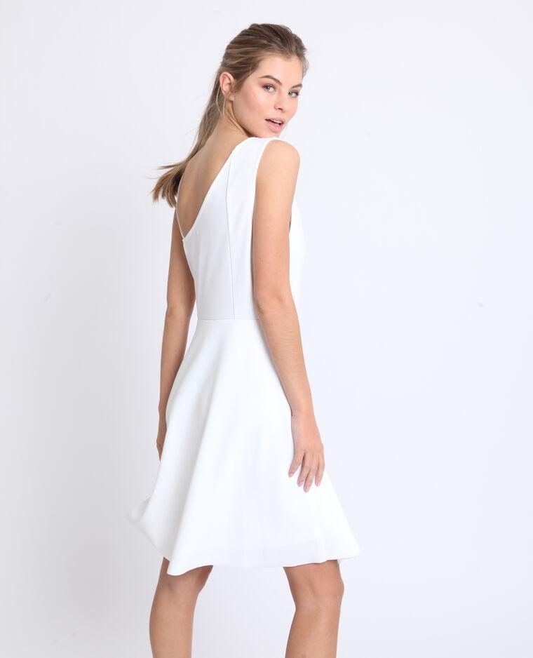 205e358ad06f Robe asymétrique blanc cassé  Robe asymétrique blanc cassé