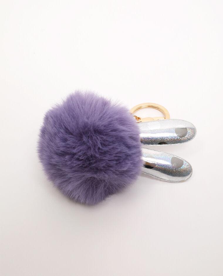 Porte-clés lapin violet - Pimkie