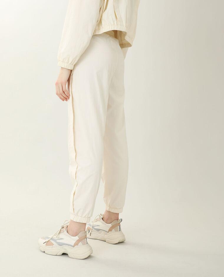 Pantalon coupe-vent beige - Pimkie