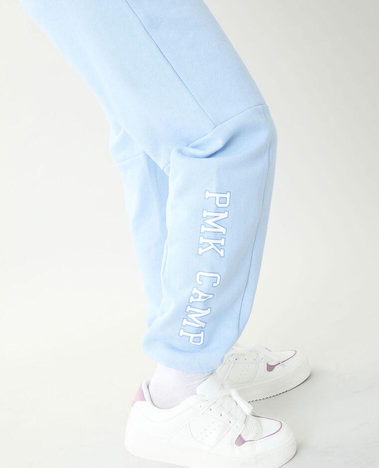 Jogging molleton bleu