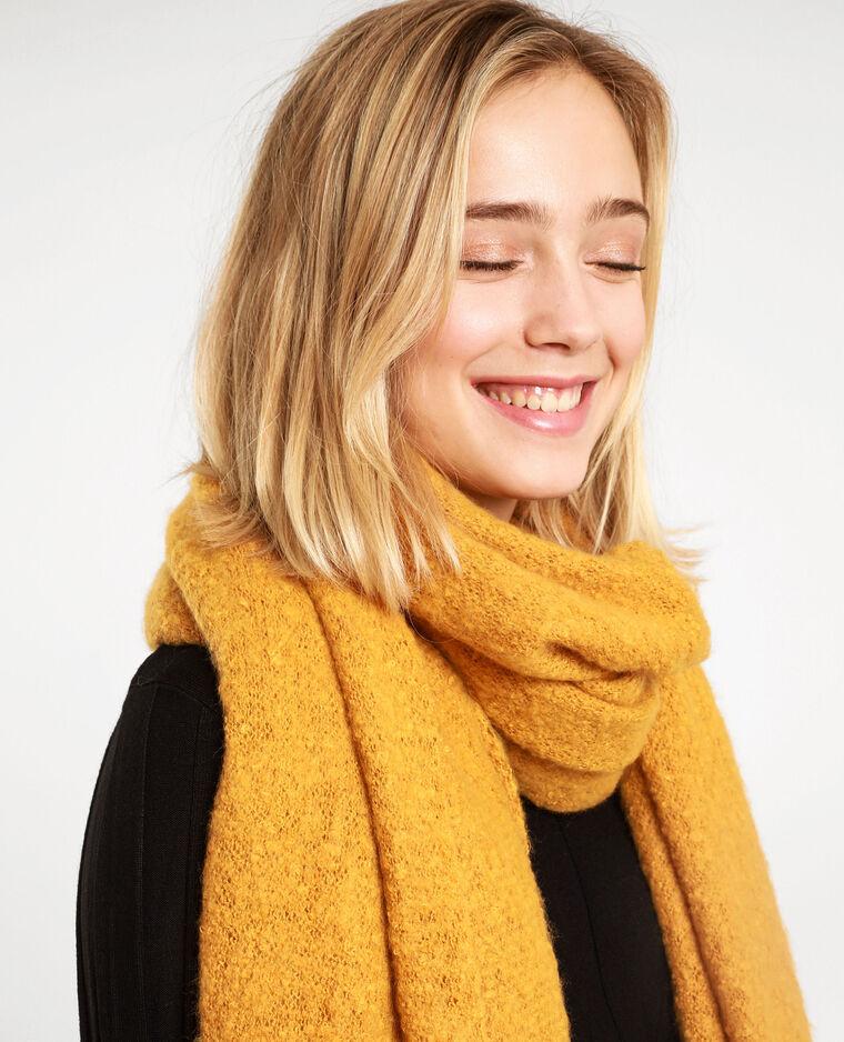 Echarpe douce jaune