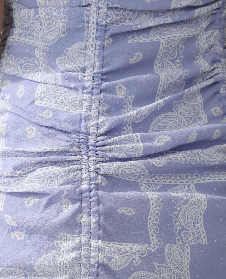 Robe cachemire violet - Pimkie