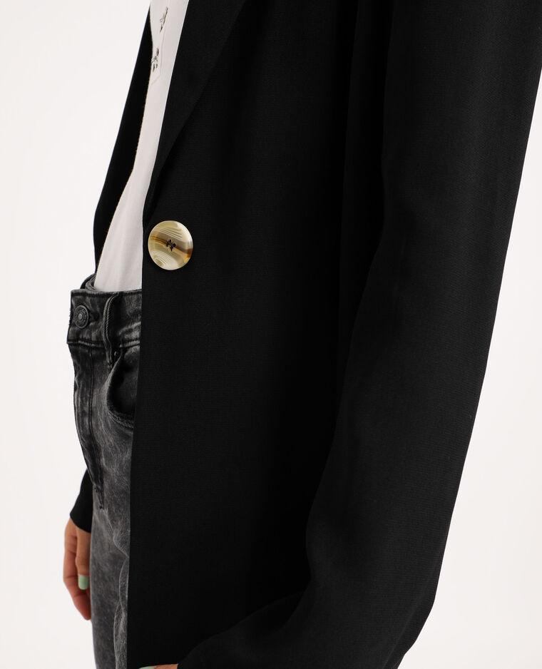 Blazer ample noir